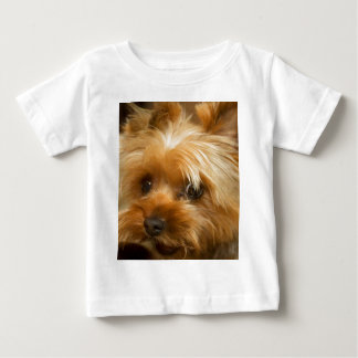 Wait for mom love  haley dog yorkie terrier baby T-Shirt
