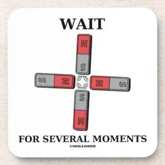 Wait For Several Moments (Quadrupole Moment) Coaster