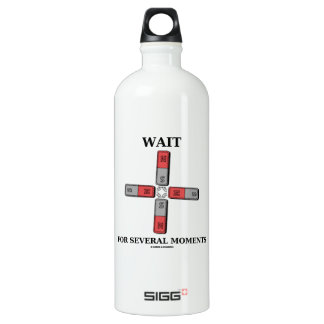 Wait For Several Moments (Quadrupole Moment) Water Bottle