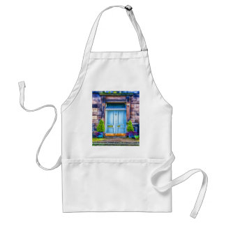 Wait for you to open my door adult apron