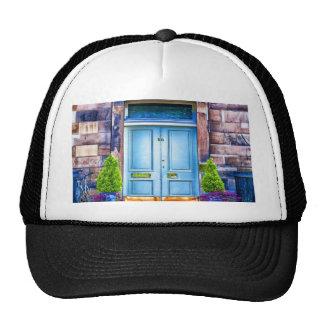 Wait for you to open my door trucker hat