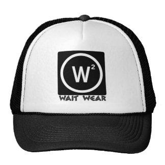 Wait Wear Logo Trucker Hats
