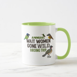 Wait Women Annual custom Mug