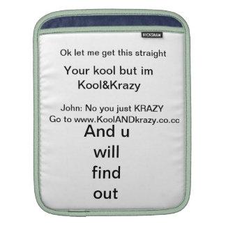 Wait your krazy iPad sleeve