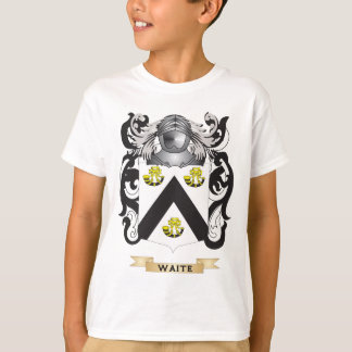 Waite Family Crest (Coat of Arms) T-Shirt
