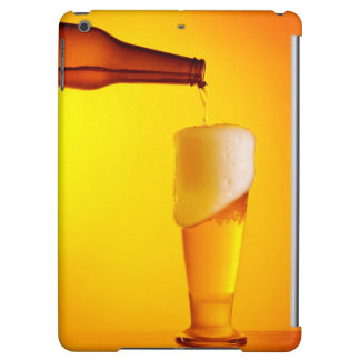 Waiter pouring beer, glass of a cold drink iPad air cases