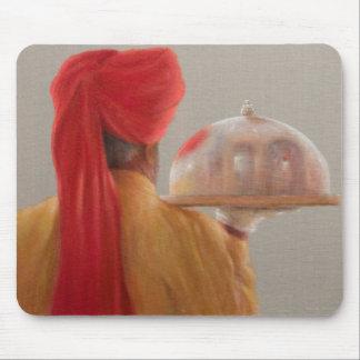 Waiter Rambagh Palace 2010 Mouse Pad