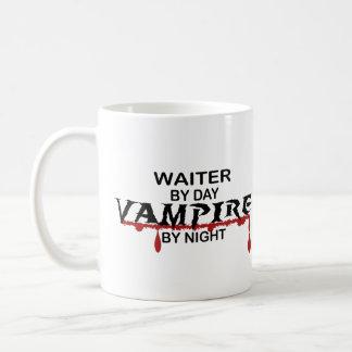 Waiter Vampire by Nigh Classic White Coffee Mug