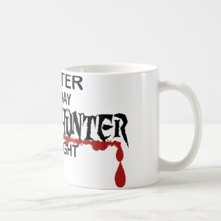 Waiter Zombie Hunter Coffee Mug