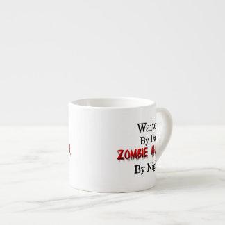 Waiter/Zombie Hunter Espresso Cup