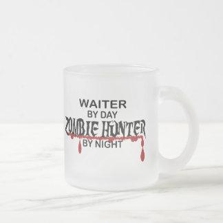Waiter Zombie Hunter Coffee Mugs