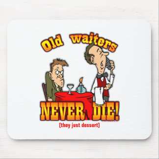 Waiters Mouse Pad