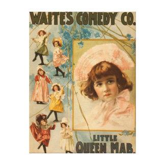 Waite's Comedy Co. Little Queen Mab Play Canvas Print