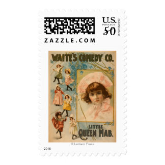 Waite's Comedy Co. Little Queen Mab Play Postage