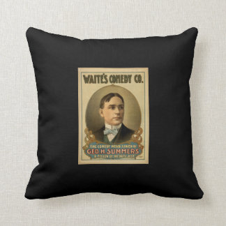 Waite's Comedy Co. Throw Pillow