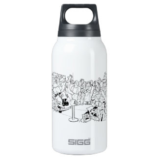 Waitin' in Line.... Insulated Water Bottle