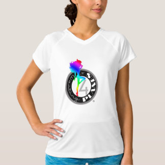 Waiting 4 Planes ® Rainbow Logo Women's Tek Top