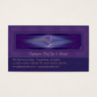 Waiting Abstract Art Business Card