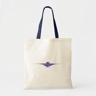 Waiting Abstract Art Tote Bag