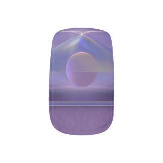 Waiting Abstract Fractal Minx® Nail Wraps