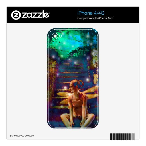 Waiting at the Gate iPhone 4 Decal