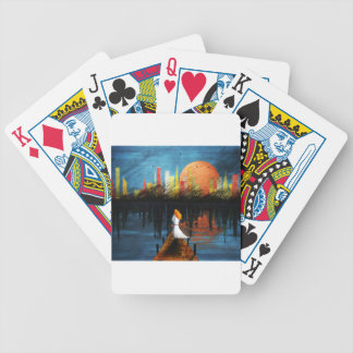 Waiting. Bicycle Playing Cards
