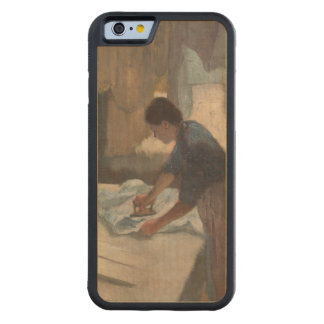 Waiting by Edgar Degas Carved® Maple iPhone 6 Bumper Case