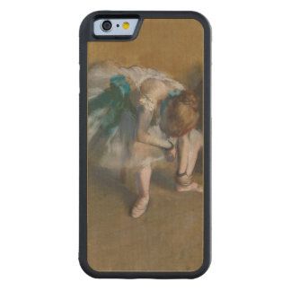Waiting by Edgar Degas Carved® Maple iPhone 6 Bumper