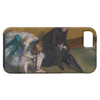 Waiting by Edgar Degas iPhone 5 Case