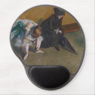 Waiting by Edgar Degas Gel Mouse Mats
