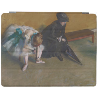 Waiting by Edgar Degas iPad Cover