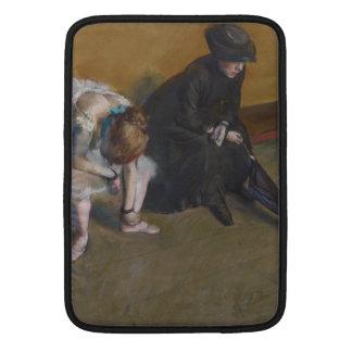 Waiting by Edgar Degas MacBook Sleeve