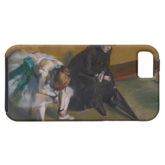 Waiting by Edgar Degas iPhone SE/5/5s Case