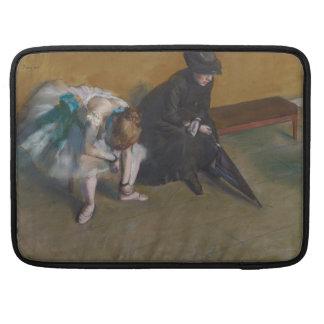 Waiting by Edgar Degas Sleeve For MacBooks