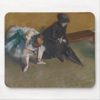 Waiting by Edgar Degas Mouse Pads