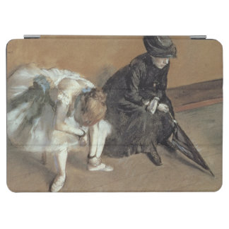 Waiting, c.1882 (pastel) iPad air cover