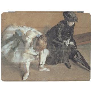 Waiting, c.1882 (pastel) iPad cover