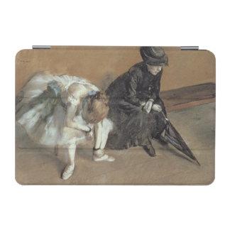 Waiting, c.1882 (pastel) iPad mini cover