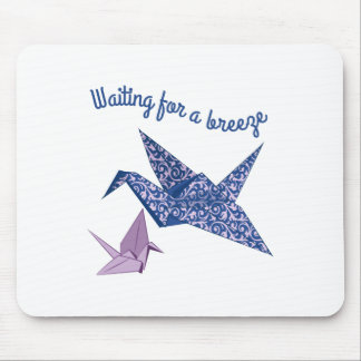Waiting for a Breeze Mouse Pads