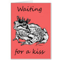 Waiting For a Kiss card