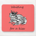 Waiting For a Kiss mousepad