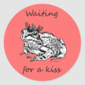 Waiting For a Kiss sticker