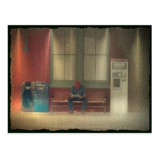 Waiting For A Train Postcard