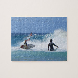 Waiting for a Wave Jigsaw Puzzle