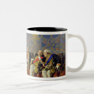 Waiting for an Audience, 1904 Two-Tone Coffee Mug