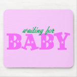 Waiting for Baby Mouse Pad