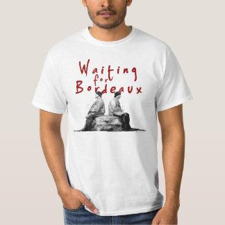 Waiting for Bordeaux T-Shirt