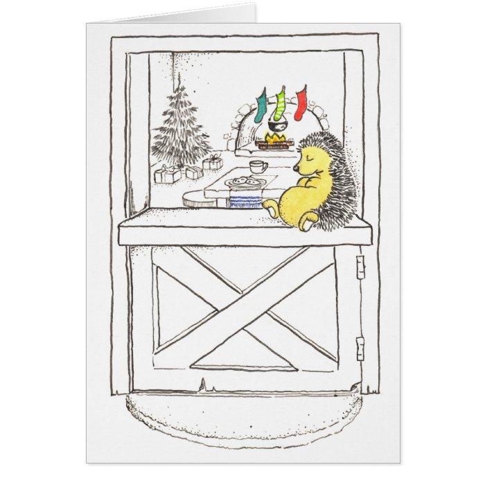 Waiting for Christmas Card