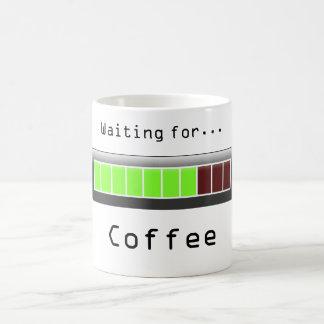 Waiting for Coffee Classic White Coffee Mug