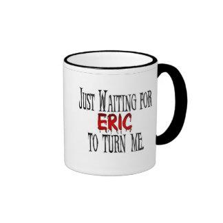 Waiting for Eric to turn me Ringer Mug